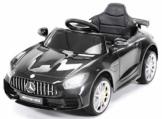Kinder Elektroauto Mercedes GTR AMG schwarz
