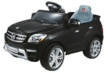 Kinder Elektroauto Mercedes ML 350 schwarz