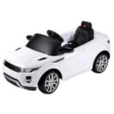 Kinder Elektroauto Range Rover weiß