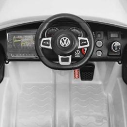 Kinder Elektroauto VW Golf GTI 7 weiß