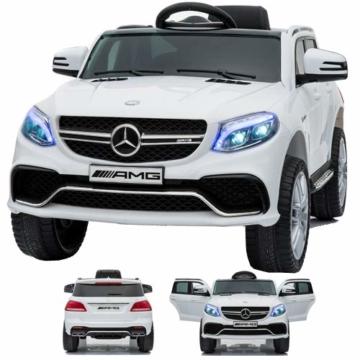 Kinder Elektroauto Mercedes GLE63s AMG weiß