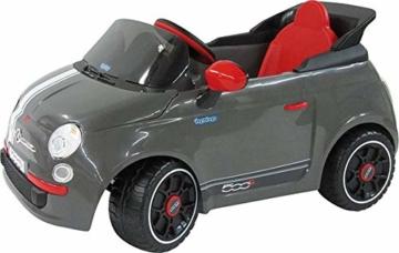 Peg Perego Fiat 500 S Kinder Elektroauto optional mit Fernbedienung -