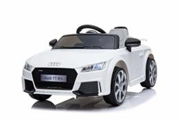 Kinder Elektroauto Audi TT weiß