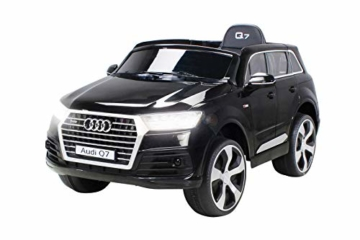 Kinder Elektroauto Audi Q7 schwarz