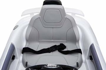 Kinder Elektroauto Audi TT RS  2X 30W Motor Weiß -