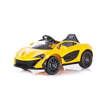 Kinder Elektroauto McLaren P1 mit Fernbedienung -