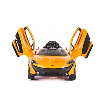 Elektrokinderauto McLaren P1 gelb