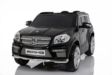 Kinder Elektroauto Mercedes-Benz GL63 AMG schwarz