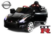 Kinder Elektroauto Nissan GTR schwarz