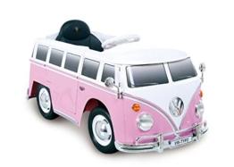 Kinder Elektroauto VW bus Bulli T1 Typ 2 pink
