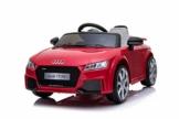 Kinder Elektroauto Audi TT RS rot