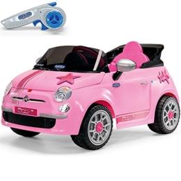 Kinder Elektroauto Fiat 500 Star Peg Perego