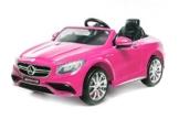 Kinder Elektroauto Mercedes Benz S63 AMG pink