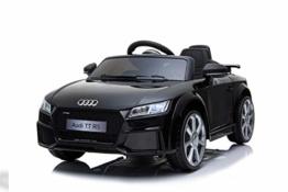 Kinder Elektroauto Audi TTRS Cabrio Spyder