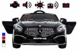 Kinder Elektroauto Mercedes SL65 AMG Kinderfahrzeug schwarz