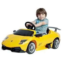 Kinder Elektroauto Lamborghini Murcielago gelb