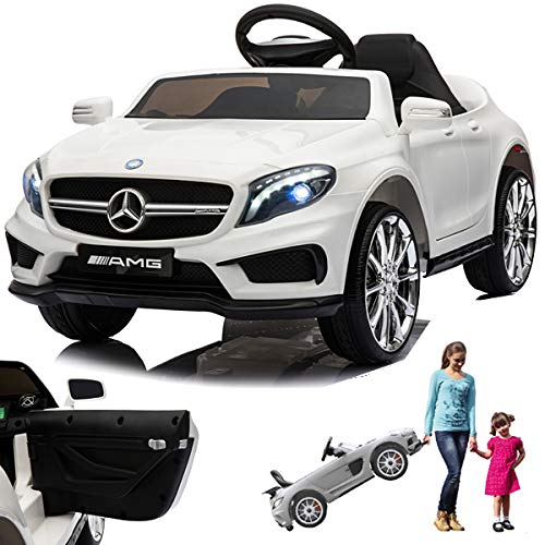 kinder elektroauto mercedes gla45 amg weiss. Black Bedroom Furniture Sets. Home Design Ideas