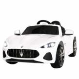 Kinder Elektroauto Maserati Gran Cabrio weiß
