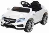 Kinder Elektroauto Mercedes GLA AMG weiß