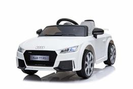 Kinderelektroauto Audi TTS Cabrio weiß