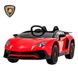 Kinder Elektroauto Lamborghini Aventador rot
