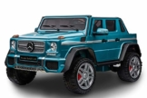 Kinder Elektroauto Mercedes-Benz Maybach G650 blau