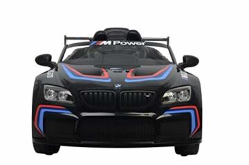 Kinder Elektroauto BMW 6 M GTR3