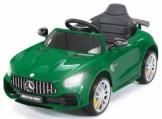 Kinder Elektroauto Mercedes GTR grün