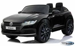 Kinder Elektroauto VW Arteon schwarz