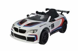 Kinder Elektroauto BMW M6 GTR3
