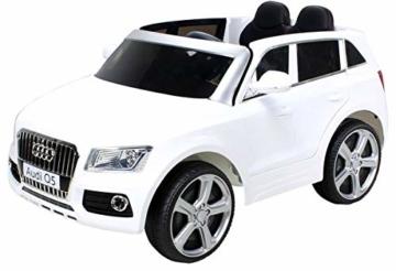 Kinder Elektroauto Audi Q5 weiß
