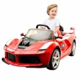Kinder Elektroauto Ferrari rot