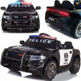 Kinder Elektroauto Polizei Police