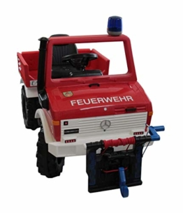 Kinder Elektroauto Feuerwehr Unimog