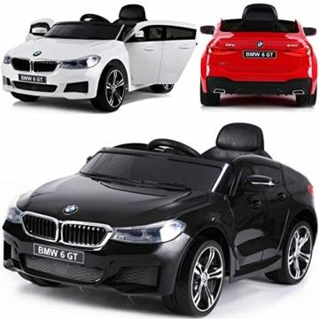 Kinder Elektroauto BMW 6er GT