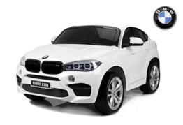 Kinder Elektroauto BMW X6M weiß