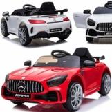 Kinder Elektroauto Mercedes GT-R AMG weiß