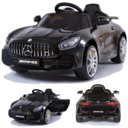 Kinder Elektroauto Mercedes GT-R schwarz