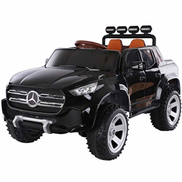 Kinder Elektroauto Mercedes Benz schwarz