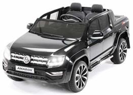 Kinder Elektroauto VW Amarok schwarz