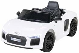 Kinder Elektroauto Audi R8 weiß