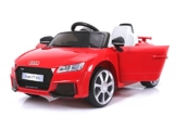Kinder Elektroauto Audi TT rot