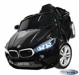 Kinder Elektroauto BMW X6M schwarz