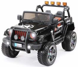 Kinder Elektroauto Jeep Wrangler 2-Sitzer