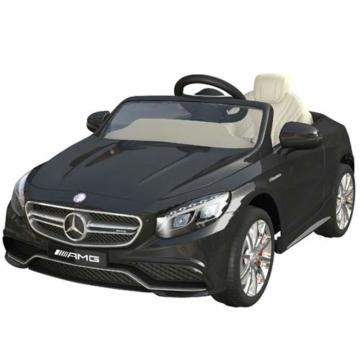 Kinder Elektroauto Mercedes S Klasse schwarz