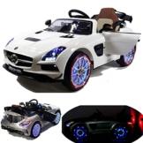 Kinder Elektroauto Mercedes S Klasse weiß