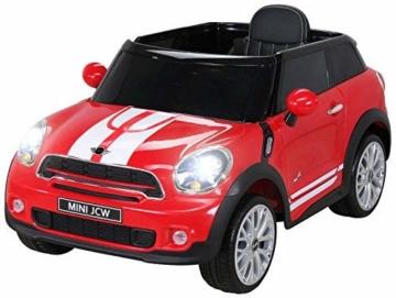 Kinder Elektroauto Mini Paceman rot