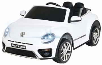 Kinder Elektroauto VW Beetle weiß