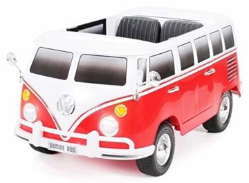 Kinder Elektroauto VW T1 Bulli Samba Camper